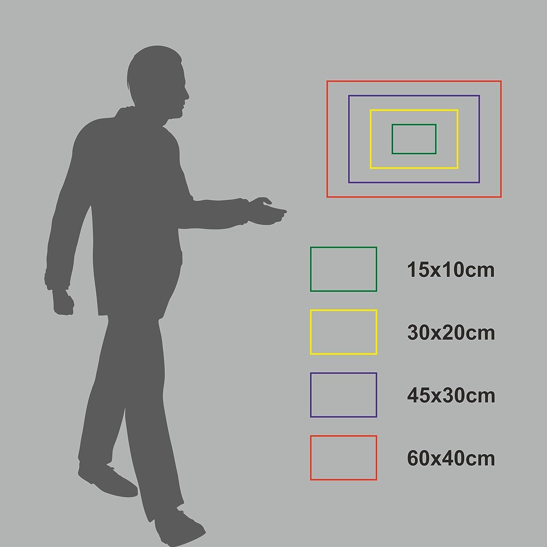 20 Varianten MK-Schilder Aufkleber 15x10cm Bitte H/ände desinfizieren 15x10cm