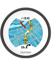 TomTom 1SP0.001.04 VIO, Navigatore per Scooter con Navigazione dettagliata, Avvisi su Tutor&Autovelox, Percorsi alternativi per Evitare Il Traffico e Visualizzazione del chiamante, impermeabile, Nero