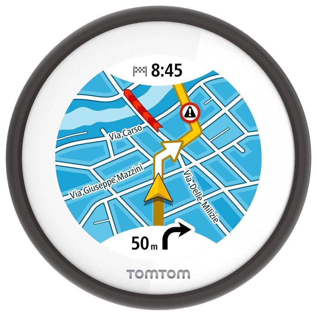 Display, Europa Karten, Radarkameras auf Wunsch, Anruferanzeige TomTom Vio Motorroller-Navigation 2,4 Zoll 6,1 cm