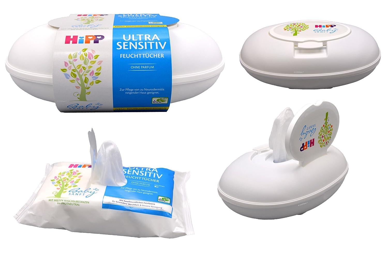HiPP Babysanft Feuchttücher Ultra Sensitiv in der Box, Art.Nr. 9575, VE 1x 52 Stück VE 1x 52 Stück
