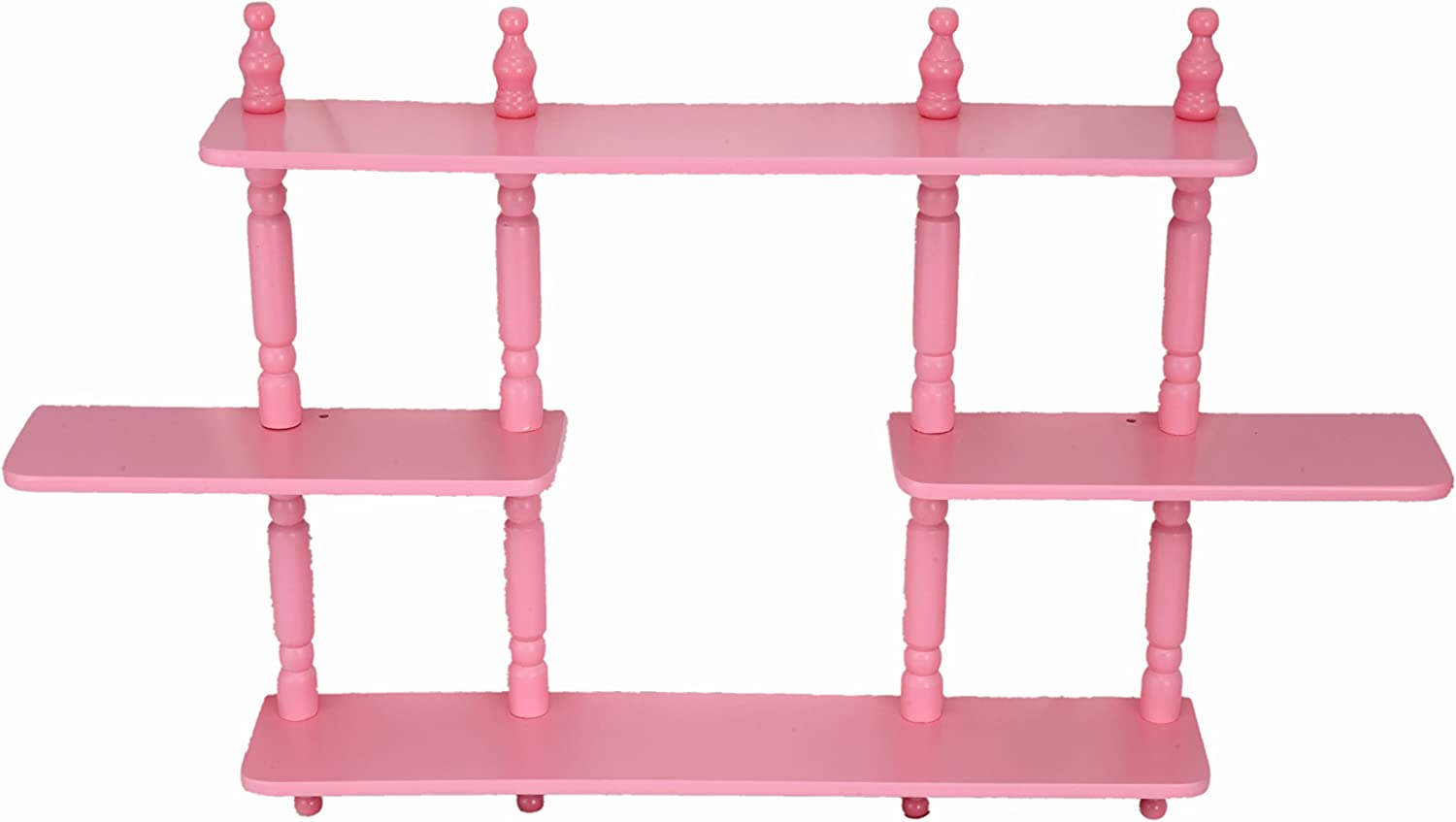 Frenchi Home Furnishing Kid's 4-Tier Wall Shelves