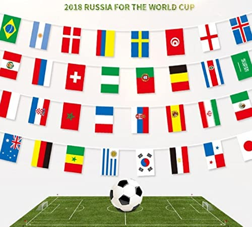 FIFA Football World Cup Flags and Costume Accessois