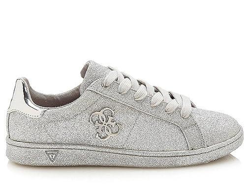 Guess Mujer Zapatillas de Gimnasia Size: 35 EU: Amazon.es: Zapatos y complementos
