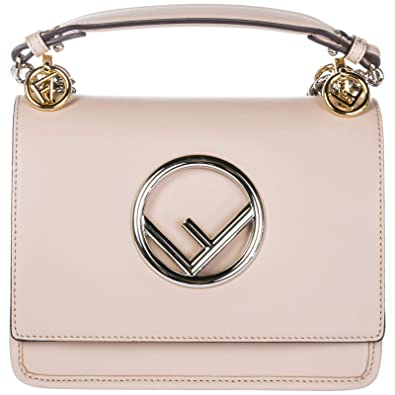 8972ff061ac8 Fendi Kan I Logo sac porté épaule femme rosa  Amazon.fr  Chaussures ...