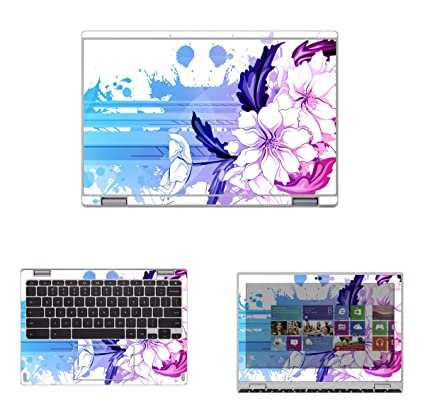 Decalrus - Protective Decal Skin skins Sticker for Acer Convertible ChromeBook 11 R11- CB5-
