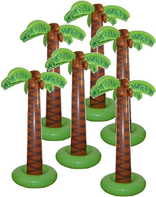 Juego de 3 palmeras hinchables: Amazon.es: Juguetes y juegos