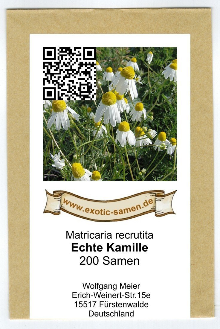 Matricaria recrutita Echte Kamille 200 Samen