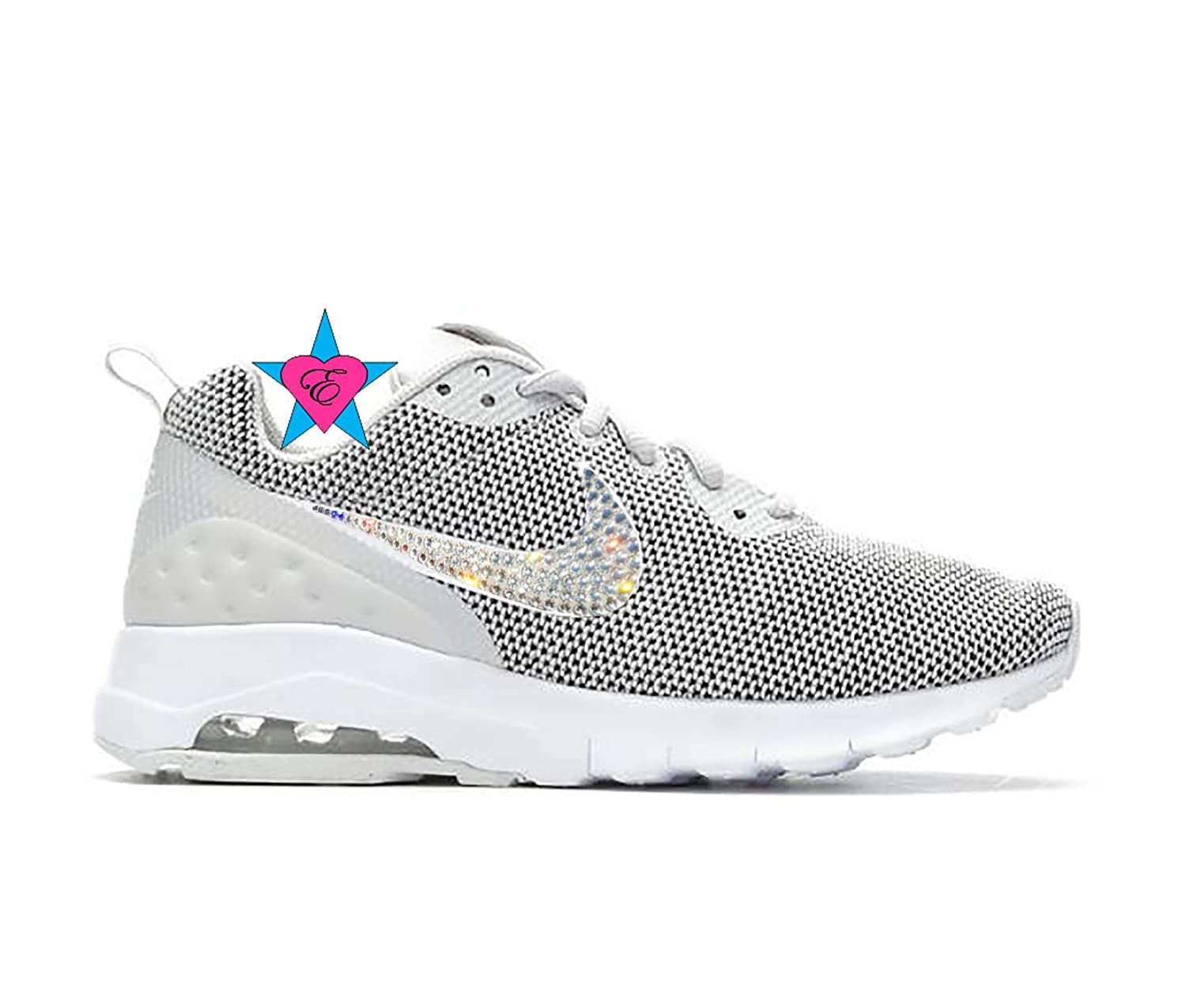 Amazon.com  Bedazzled Glitter Bling Gray Women s Sneakers  21fc0a90d3