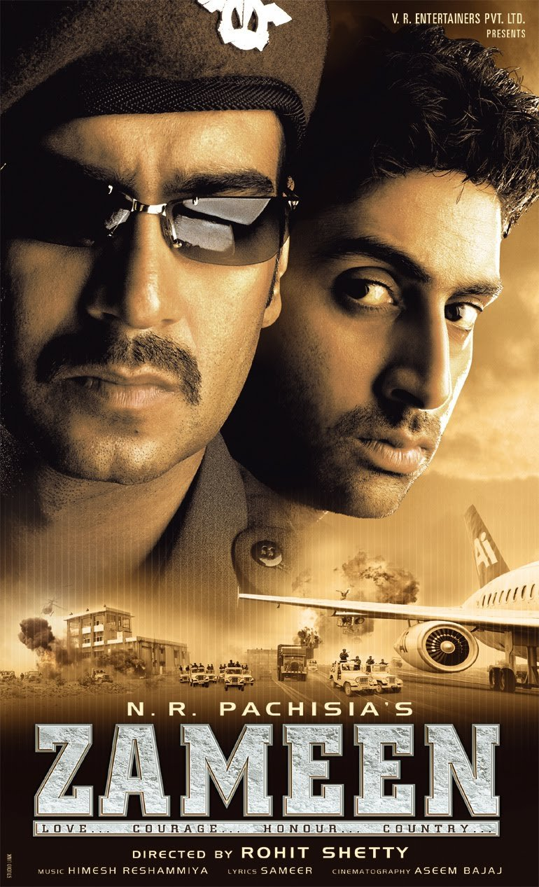 Amazon.com: Zameen (Hindi Movie / Bollywood Film / Indian Cinema) DVD: Ajay  Devgn, Abhishek Bachchan, Bipasha Basu: Movies & TV