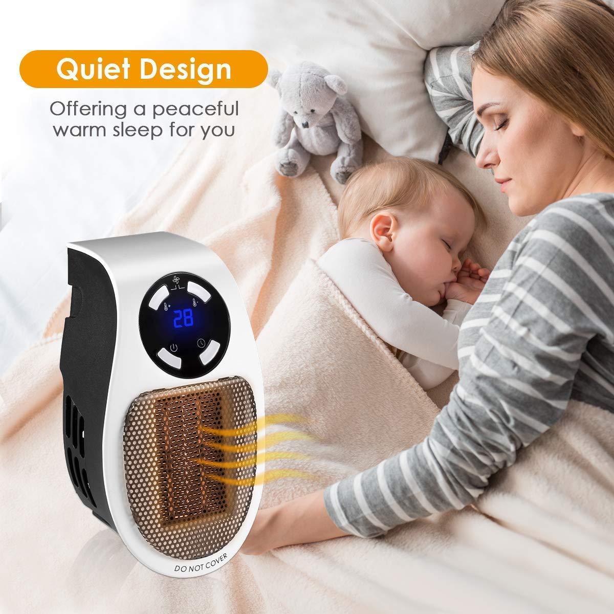 mini heizl fter elektrische heizung steckdose heizger t. Black Bedroom Furniture Sets. Home Design Ideas