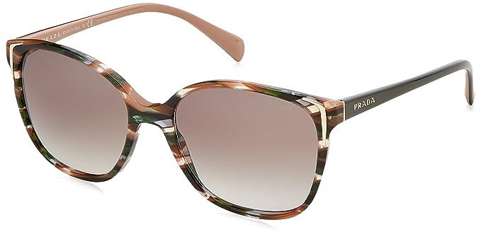 Prada 0PR01OS CXY0A7 55, Gafas de Sol para Mujer, Verde ...