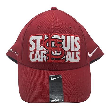 0f382f4a87b Amazon.com   Nike MLB St. Louis Cardinals Dri Fit One Fit Flex Cap ...