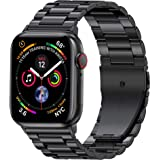 EPULY Compatible with Apple Watch Band 42mm 44mm 38mm 40mm ,Business Stainless Steel Metal Wristband for iWatch SE & Series 6