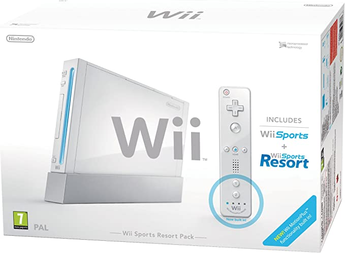 Nintendo Wii Sports Resort Pack - juegos de PC (512 MB, SD, 802.11b, 802.11g, AV) Color blanco: Amazon.es: Videojuegos