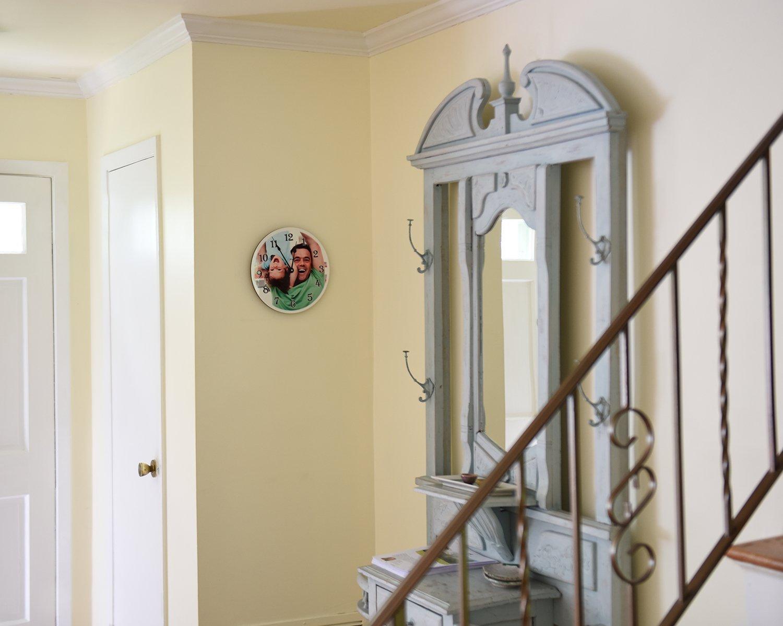 Amazon.com: RitzPix Photo Wall Clock Customizable – Perfect ...