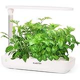 KLARSTEIN GrowIt Farm • Smart Indoor Garden • Coltivazione in Casa • Set di 15 Pezzi • Fino a 9 Piante in 25-40 Giorni • 20 a 28 ° C • Illuminazione a LED da 18 Watt • Serbatoio Acqua 2 L • Bianco