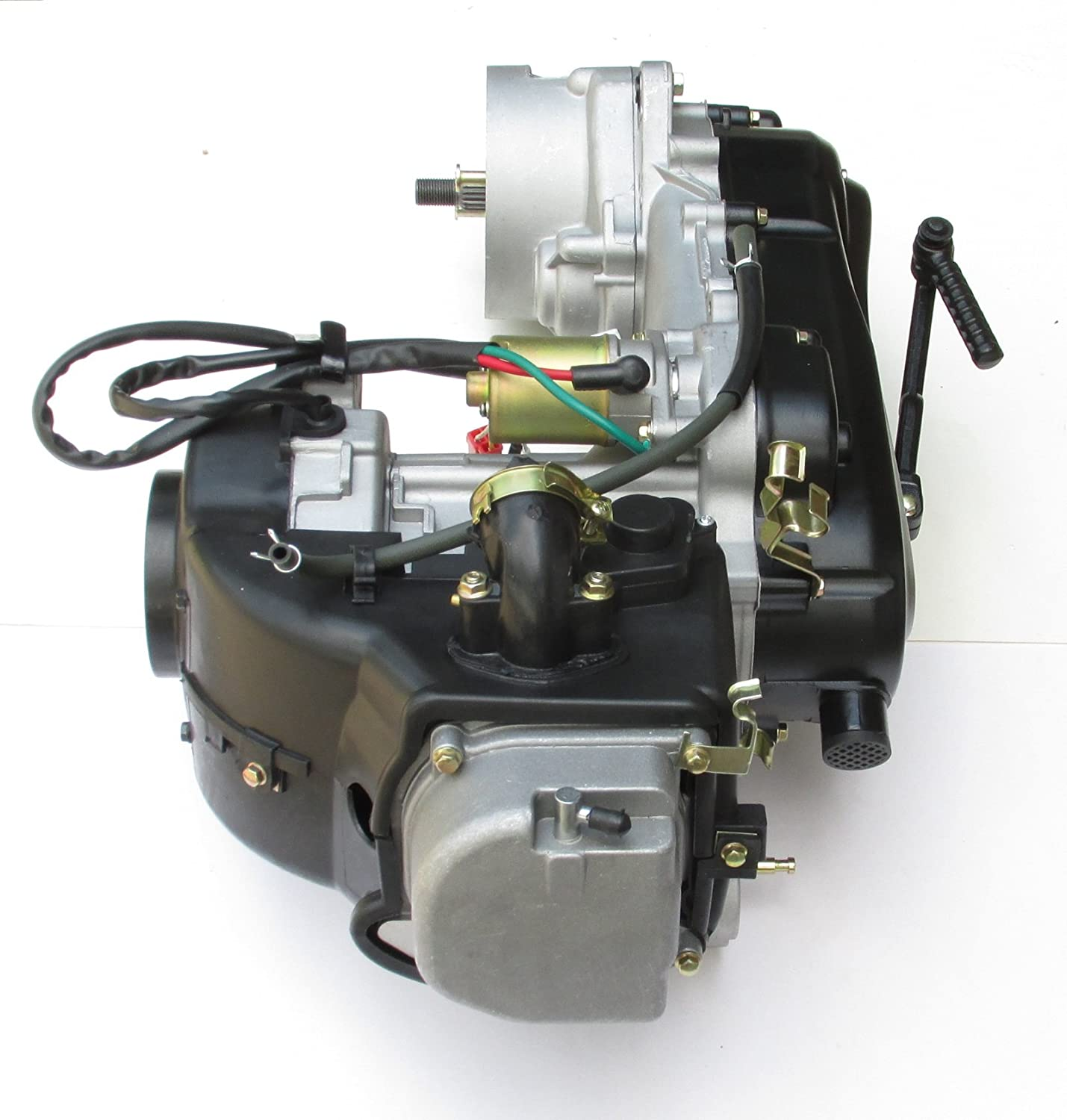 Brand New GY6 50cc 4-Stroke Short Case Engine 1P39QMB CVT QMB139 Scooter Peace Jonway Moped