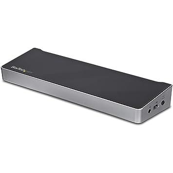 StarTech com Dual Monitor KVM Docking Station - for Two Laptops - 4K - File  Transfer - Universal Laptop Docking Station (USB3DDOCKFT)