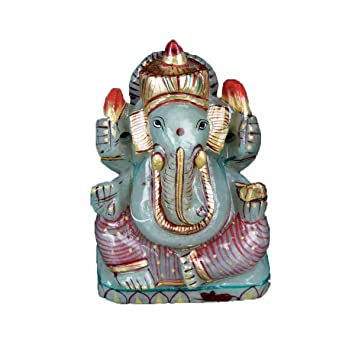 Gemhub Ganesh Ganpati Statue De Dieu Hindou Approximativement