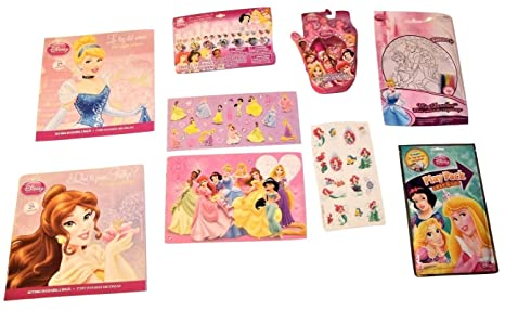 Disney Princess Activity Gift Set ~ Love All Around (Mini Doodle, Play Pack,