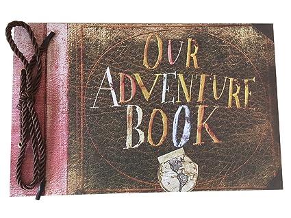 Amazon Linkedwin Our Adventure Book Diy Scrapbookwedding Photo