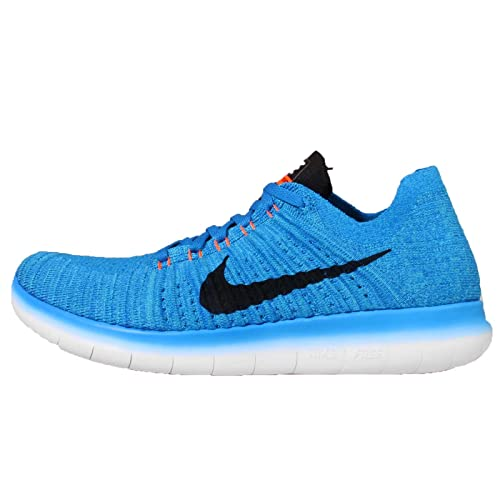 super popular d38fa eafe2 Nike Men s Free RN Flyknit, Photo Blue Black-Gamma Blue-Total Orange, 14 M  US  Buy Online at Low Prices in India - Amazon.in