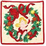 FEILER フェイラー タオルハンカチ Christmas 2016 RED クリスマス レッド (赤) [並行輸入品]