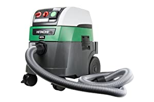 Hitachi RP350YDH 9.2 gallon Commercial HEPA Vacuum with Automatic Filter Cleaning (Includes 2 HEPA filters)