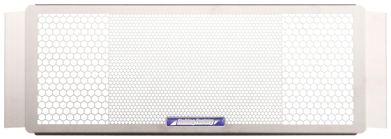エッチングファクトリー(ETCHING FACTORY) コアガード オイルクーラーガード エンブレム:青 ステンレス シルバー XJR400 OGY-XJR400-00   B01H3EURR6