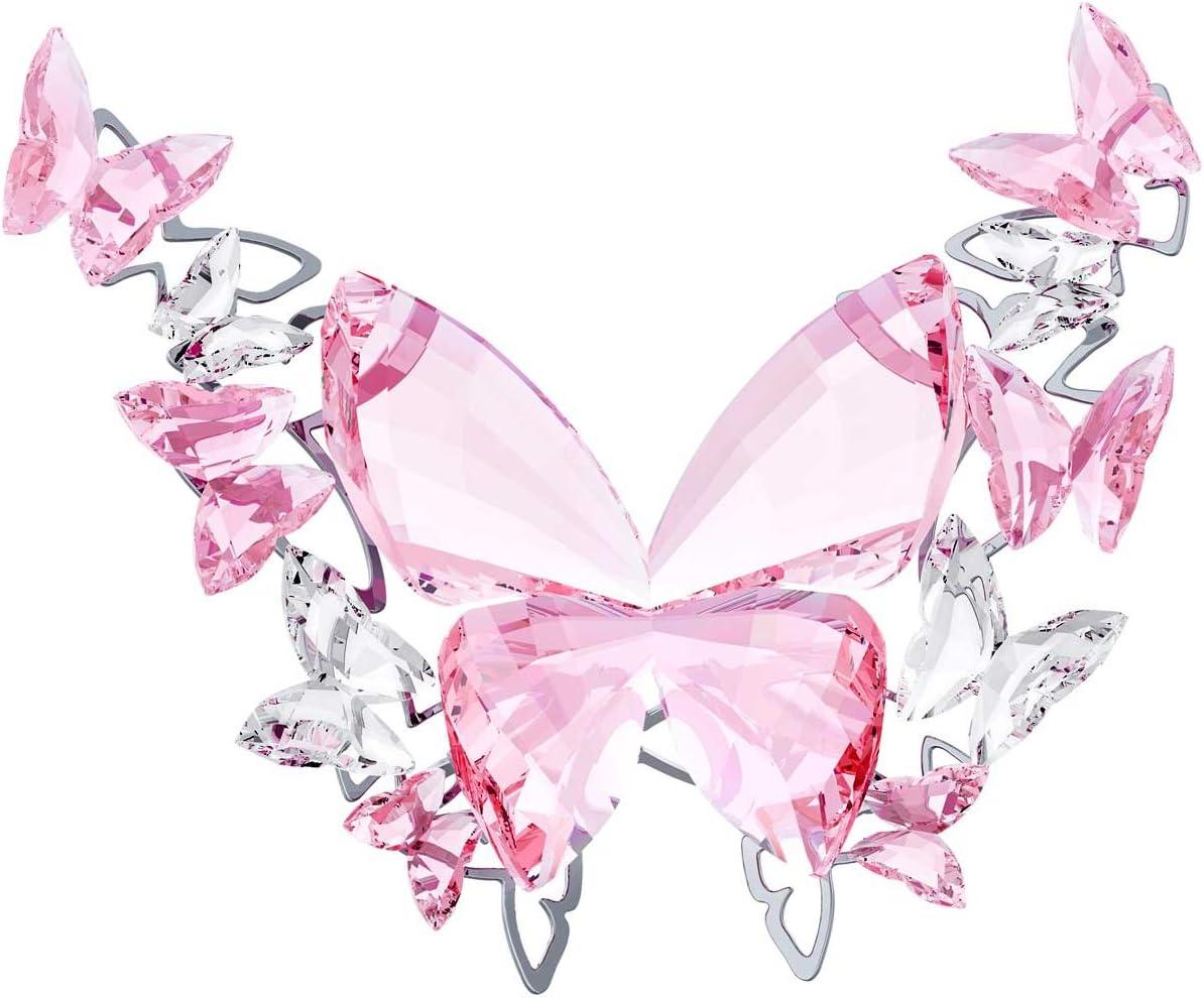 Swarovski Crystal Figurine 5031520, Butterfly Rosaline, Large