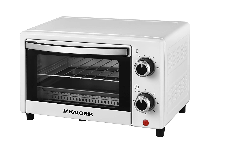 Team Kalorik TKG OT 2025 WH - Horno pequeño (9 L, con bandeja para ...