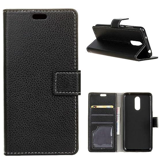 cheap for discount 50a9d 81a79 Amazon.com: Alcatel A3 Plus Case, CHIHENG Litchi Texture PU Leather ...