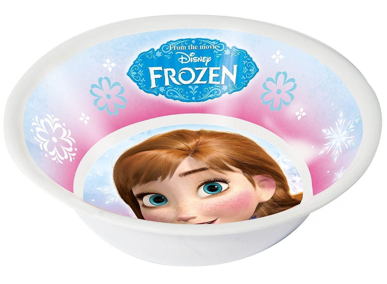fushia Disney La Reine des neiges Fille Set petit-d/éjeuner 3 pi/èces