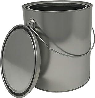 Empty Quart Paint Cans With Lids 2 Pack Unlined Metal Paint Cans Value Pack House Paint Amazon Canada