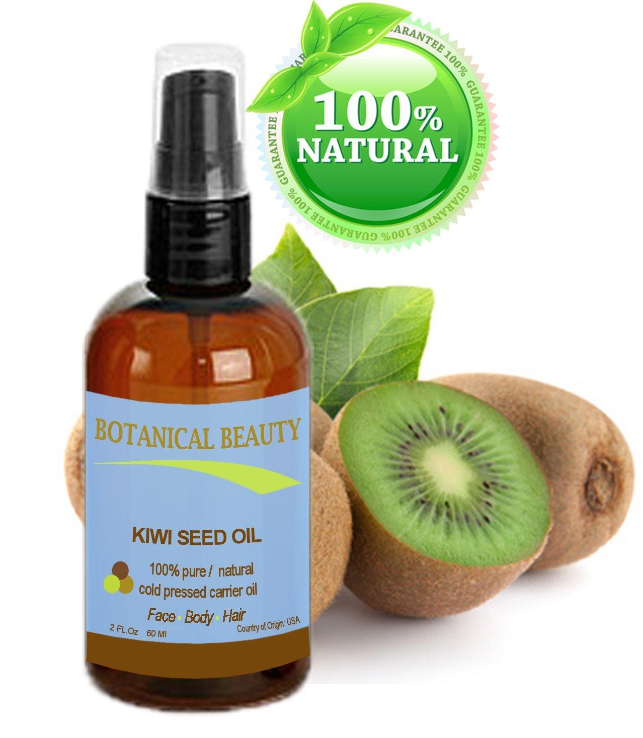 100% puro/Natural/Sin Diluir/Virgen prensado en frío aceite portador. 2 fl. oz.-60 ml. Para Cuidado De La Piel, el pelo y labios.