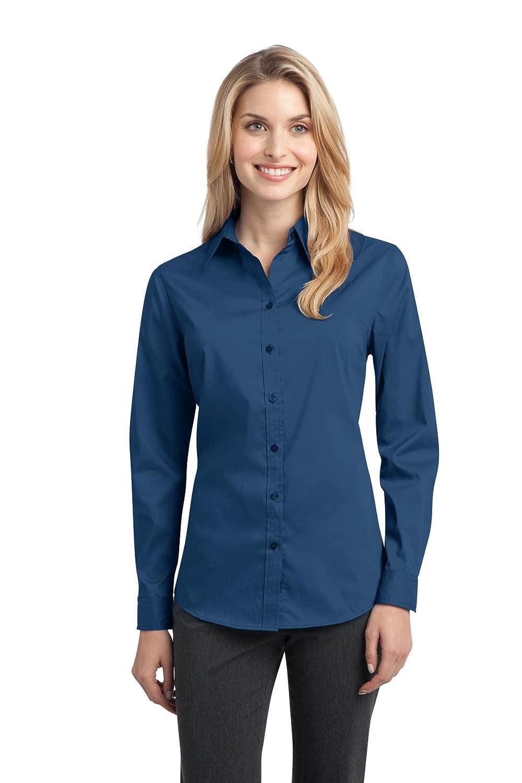 Port Authority Women's Stretch Poplin Shirt Port Authority L646