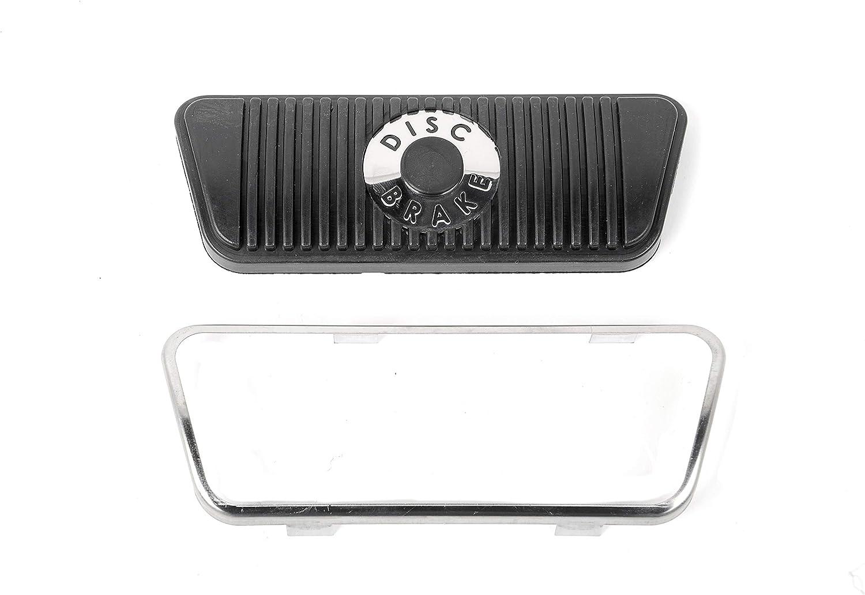 Mustang Brake Pedal Pad Trim Automatic Transmission 1968 69 70 71 72 73