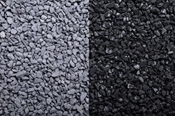 Gut gemocht Kies Splitt Zierkies Edelsplitt Basalt 2-5mm Big Bag 500 kg OY42