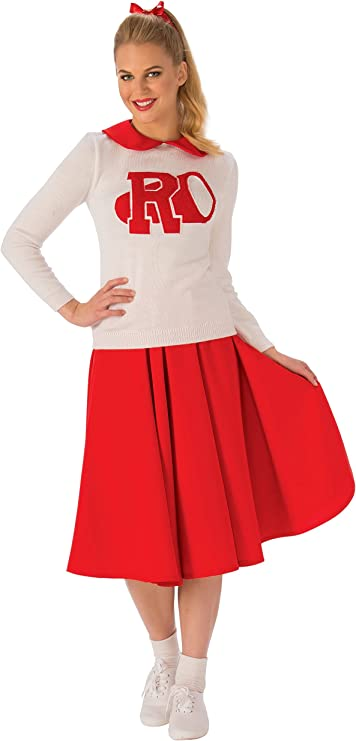 How to Dress for a 50s Sock Hop Rubies Costume Co. Womens Grease Rydell High Cheerleader Costume $47.95 AT vintagedancer.com