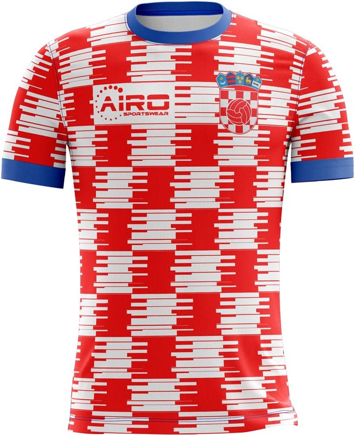 Airosportswear 2020-2021 Croatia Home Concept Football Soccer T-Shirt Jersey - Baby