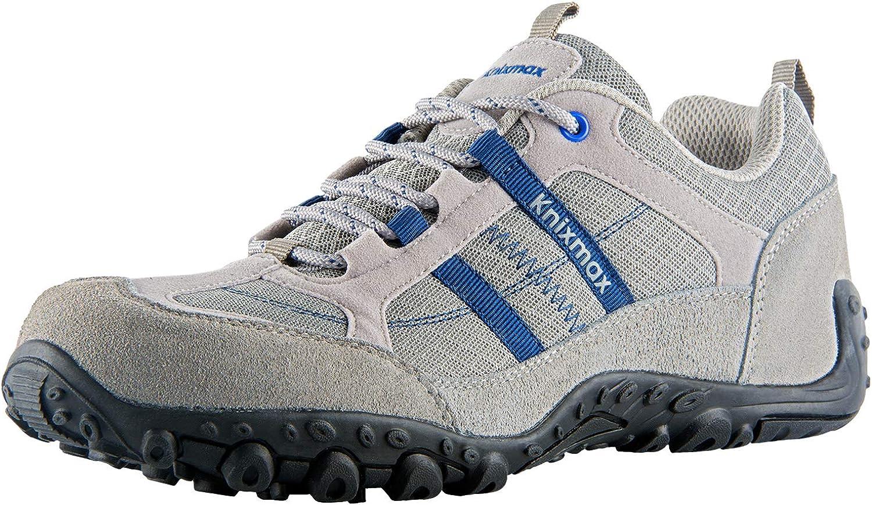 Knixmax Zapatillas de Senderismo para Hombre, Zapatillas de ...