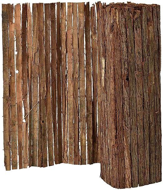 Mugar Corteza de Pino Tejida 1.50x5.00m Doble Cara: Amazon.es: Jardín