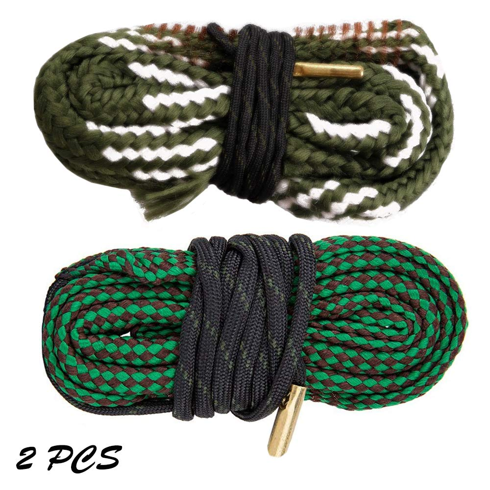Gogoku 2-Pack Bore Cleaner Snake Rifle Shotgun Gun Cleaning Kit for .22/.223/5.56mm & 20GA(2PS Combo) by Gogoku