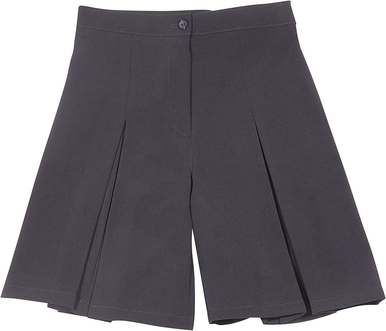 New Schoolwear Girl School Wear Girls School Uniform Girls Cullotes 2 Pleats Girls School Shorts