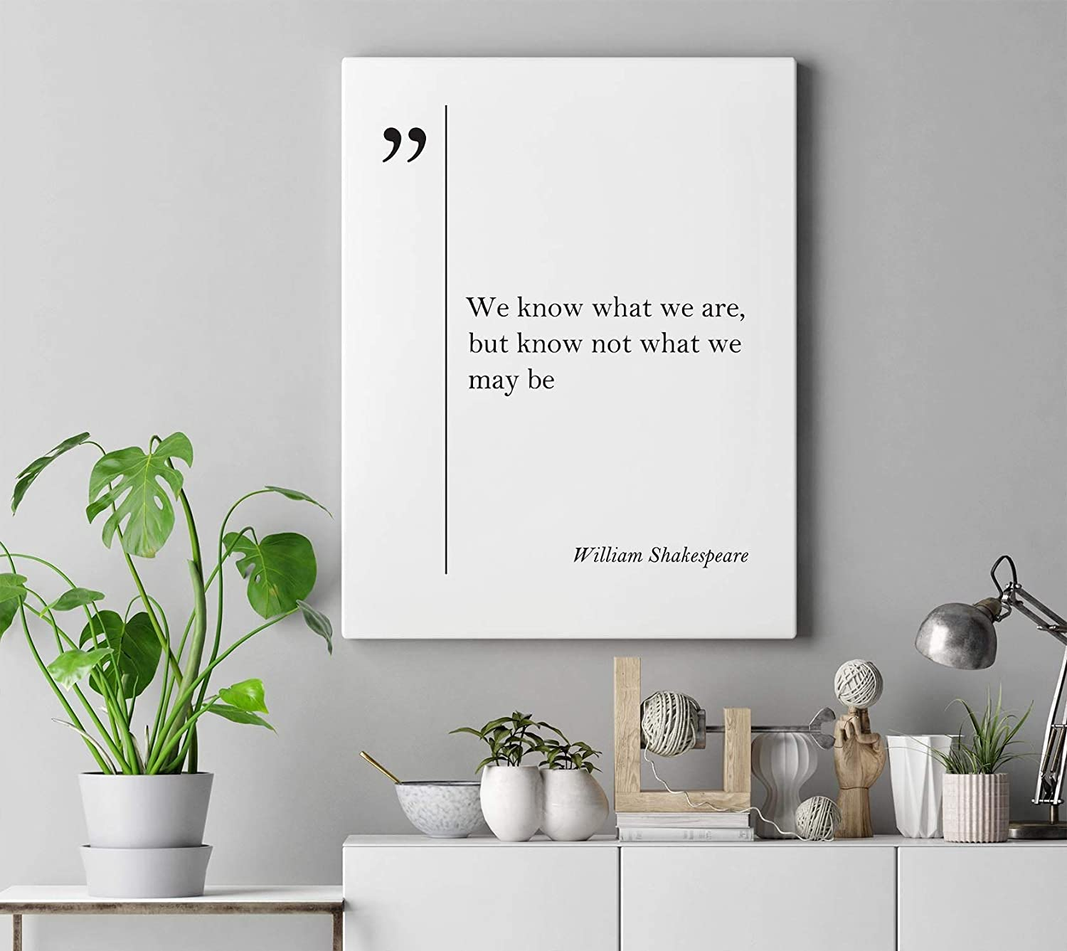 Amazon Com Dwi24isty Canvas Print William Shakespeare Quote Shakespeare Wall Art Life Quotes Wall Art Shakespeare Print Great Quotes Art Shakespeare Gift Poetry Posters Prints
