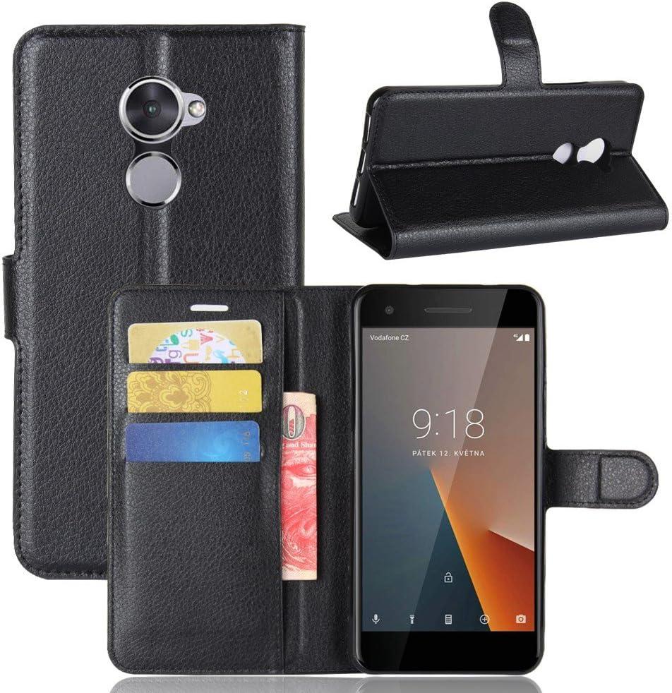 Guran? Funda de Cuero PU para Vodafone Smart V8 Smartphone Función ...