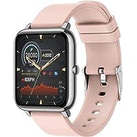 (2021 Nuevo) Reloj Deportivo Pantalla Táctil Completa de 1.3 Pulgadas, Sendowtek Reloj Inteligente para Android y iOS…