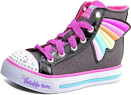 Skechers Girls' Twinkle Toes Shuffles