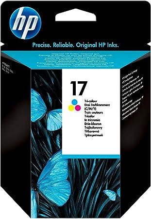 Hp 17 Farbe Original Druckerpatrone Für Hp Deskjet Bürobedarf Schreibwaren