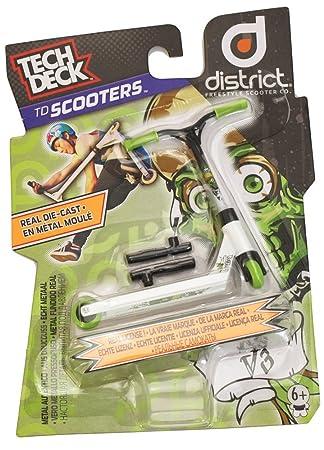 Tech Deck District Skullaz - Patinete en miniatura para ...